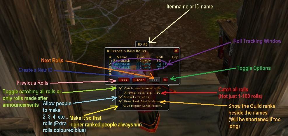 Как сделать рейд вов